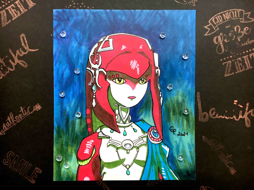 Mipha from The Legend Of Zelda - Breath Of The Wild